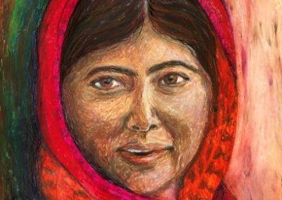 Malala - Oil Pastelle - 2019