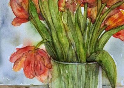 Tulips - Aquarelle - 2020